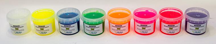 Флуоресцентная краска PRO