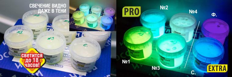 Термостойкая люминесцентная краска PRO